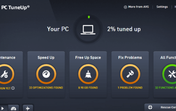 AVG PC TuneUp 21.1 Cracked + Product Key Latest